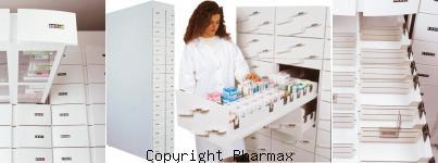 colonne tiroir pharmacie tarifs